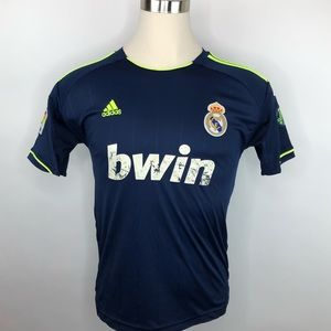 Adidas REAL MADRID Football Club BWIN Jersey large